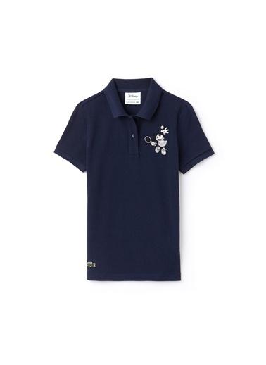 Lacoste Kadın Polo Tişört PF1348.423 Lacivert